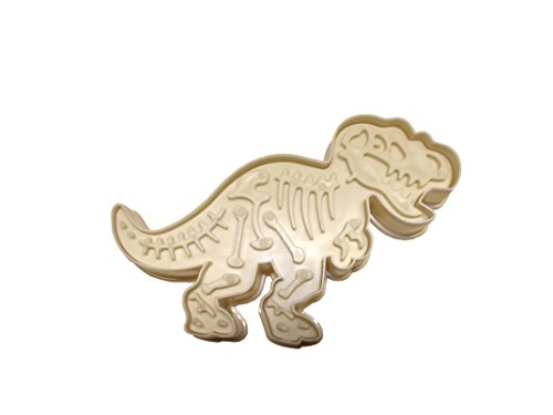 Keksausstecher und Stempel Dinosaurier (T-Rex)
