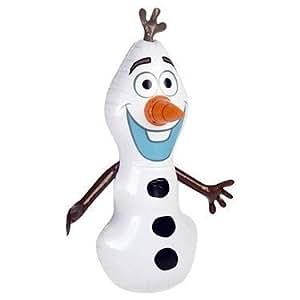 Disney – La Reine des Neiges – Olaf le Bonhomme de Neige Gonflable – 48 cm