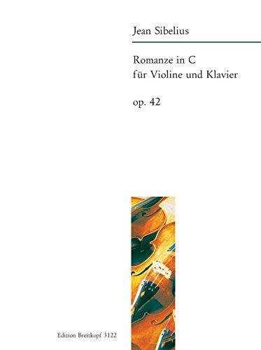 Romanze in C op. 42 Bearbeitung für Violine und Klavier (EB 3122)