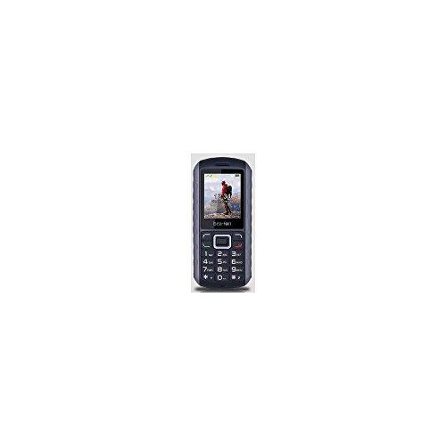 Beafon AL550_EU001BS Mobiltelefon (Dual SIM, TFT Farbdisplay, VGA Kamera, Bluetooth, IP67 (Staubdicht & Wasserdicht, 4,6 cm (1,8 Zoll schwarz/Silber