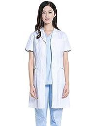 ZHUXIANSHENG Ropa Médica Uniforme del Hospital De La Ropa De La Enfermera del Uniforme del Abrigo