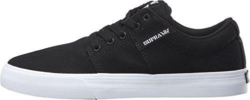 Supra - Ellington, Sneaker Basse Uomo Noir Toile