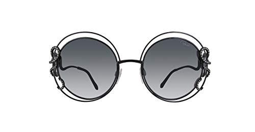 Roberto Cavalli Damen Rc1024-01C-Schwarz Sonnenbrille, Schwarz, 55
