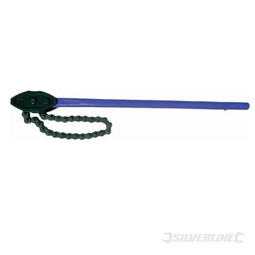 Kette Schlüssel, 1200x 300mm, für Drehen und halten große Dia Gewinde Rohr. Bietet Maximale Hebelwirkung. Double End wendbar Backen.