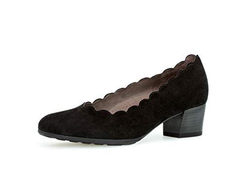 Gabor Damen Trotteur 32.211, Frauen Court-Shoes,Absatzschuhe,Abendschuhe,Stöckelschuhe,schwarz,40 EU / 6.5 UK -