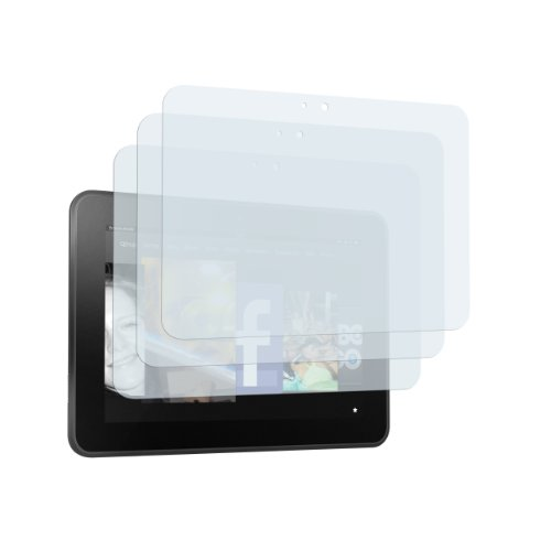 3 x mumbi Displayschutzfolie Amazon Kindle Fire HD (7 Zoll) Schutzfolie (Modell 2012) (Zoll, Kindle Displayschutzfolie 7)