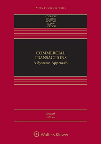 Commercial Transactions: A Systems Approach (Aspen Casebook Series) (English Edition)