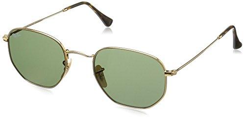 ray-ban-rb3548n-occhiali-da-sole-unisex-adulto-gold-gestell-goldglaser-grun-001-medium