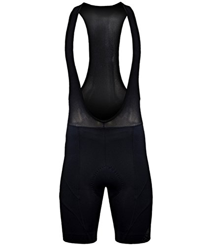 Funkier Men's S-922-D8 17 Panel Gel Cycling Bib Shorts