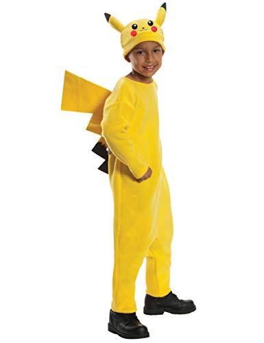 Generique - Pikachu Pokémon Kostüm für Kinder 98/104 (3-4 Jahre)