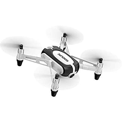 Goolsky GoolRC T700 720P Wifi FPV Mini Selfie Drone G-Sensor Altitude Hold RC Training Quadcopter w/ 2 Battery for Beginners Kids