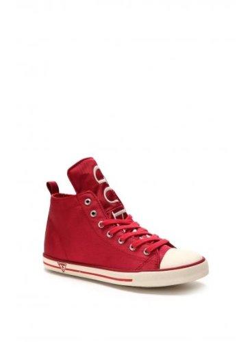Scarpe Guess - Sneaker donna in tela - Modello Jodene / Active women FL1JODFAB12 Colore: Fuxia (Rosso)