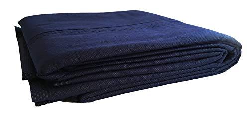 Patientendecke/Einmal-Decke mit Polyester-Baumwollwattefüllung, 400g dick, 110x190cm, Rettungsdecke Feuerwehr Rettungsdienst