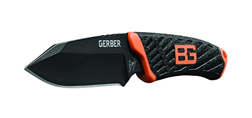 Gerber Bear Grylls Compact Feste Klinge Messer–Schwarz
