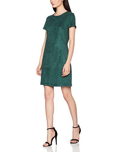 ESPRIT Damen 087EE1E021 Kleid, Grün (Bottle Green 385), 40