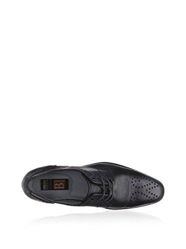 FRETZ men  Jack, Chaussures de ville à lacets pour homme Noir