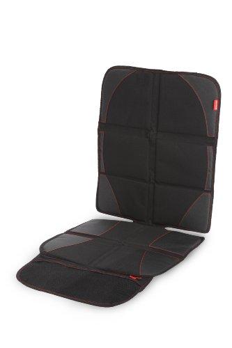 Diono Ultra Mat Deluxe, Protezione Sedile con Parasole Incluso, Nero