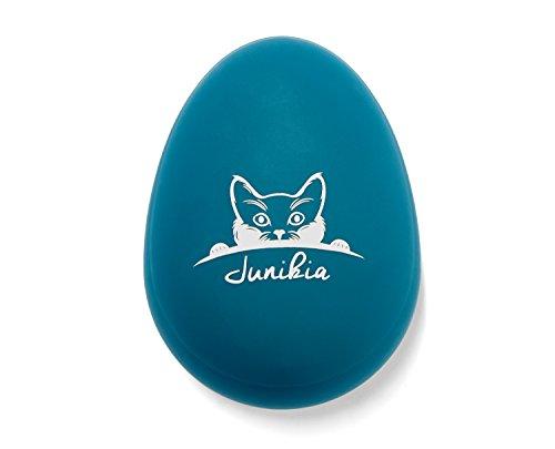 Fell-Pflege-Bürste für Langhaar & Kurzhaar Katzen & Hunde für sanftes Entwirren & glänzendes Fell, Massagebürste Badebürste blau-grün-silber - 4