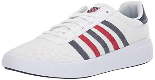 K-Swiss Heritage Light T Shoes 43 EU White Navy Red -