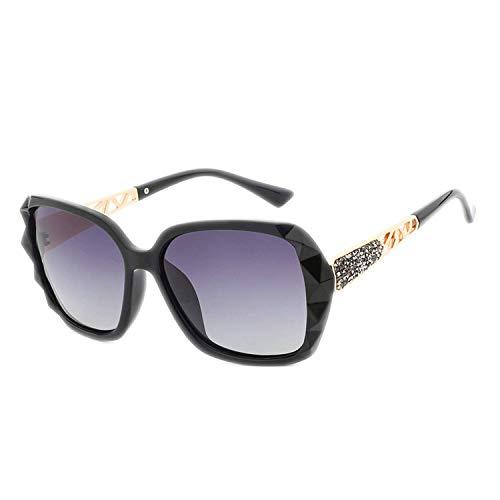 WERERT Sportbrille Sonnenbrillen Sunglasses Women Polarized Ladies Designer Retro Sunglasses Vintage Oversized Sun Glasses UV400 Fashion