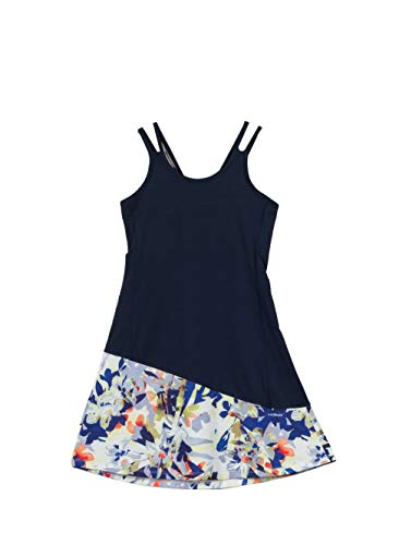 HEAD Vision Grafik Junior Tennis Kleid, Marineblau, Kinder L