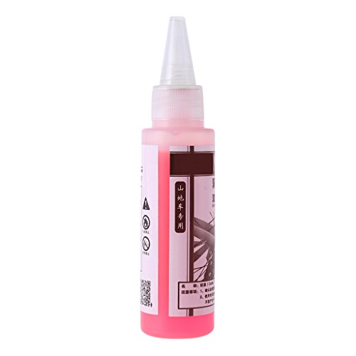 Lergo 60ml Fahrrad Scheibenbremsöl Flüssigkeit DOT Hydraulisches Mineralschmiermittel Mountainbike -