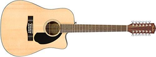 Fender CD-60SCE-12-NAT · Guitarra acústica