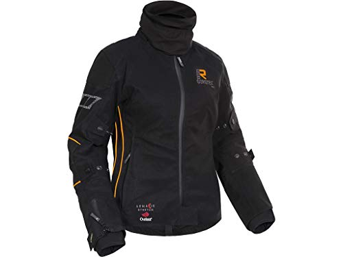Rukka Gore Tex Giacca Moto Rukka orbita nero/arancio