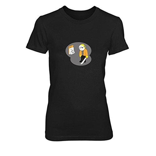 Poor Jason - Damen T-Shirt, Größe: L, Farbe: (Frauen Jason Kostüme Für)