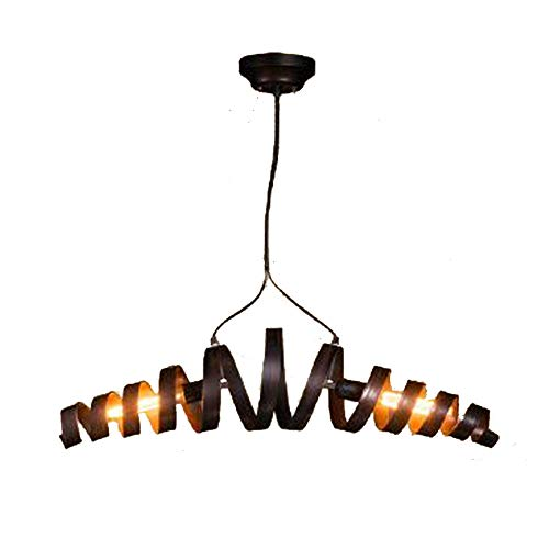 Bar Lustre Industrial Restaurant Salon Lampe Douille Sheen Vintage 70x20cm FerE27 Suspension Créatif Café Rétro Suspendue n8k0wPO