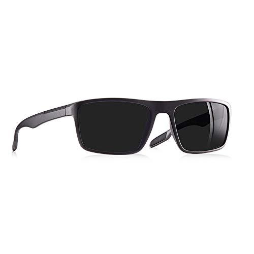 JU DA Sonnenbrillen Ultraleichte Tr90 Polarisierte Sonnenbrille Männer Treiber Schattierungen Männliche Vintage Sonnenbrille Für Männer Spuare Brillegas De Sol C2Gray Rahmen