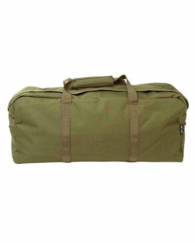 Mil-Tec Große Einsatztasche aus 600D Polyester 17 Liter (Oliv) - Große Polyester-tasche