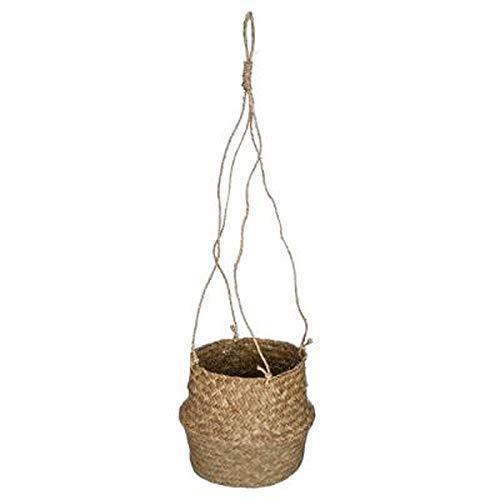 Paris Prix - Cache-Pot à Suspendre Seagrass 18cm Naturel