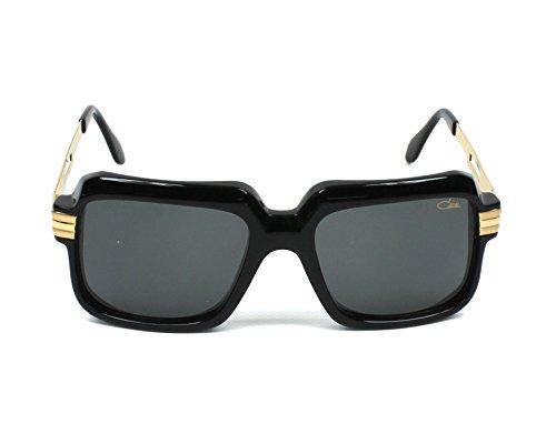 Cazal Sonnenbrillen VINTAGE 607-3 MATTE BLACK GOLD SILVER MATTE BLACK GOLD SILVER/DARK GREY Unisex