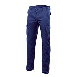VELILLA – Pantalón Multibosillos Stretch 103002S Hombre Verde 34