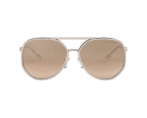 Ray-Ban Damen 0MK1039B Sonnenbrille, Shiny Rose Gold, 58