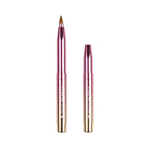 Arichtop Einzel- / Doppelkopf Retractable Lippenbürste Adjustable Tragbarer Lippenstift Gloss Pen...