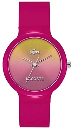 Lacoste Women's Quartz Watch with Goa Pink Silicone Analog Quartz 2020078