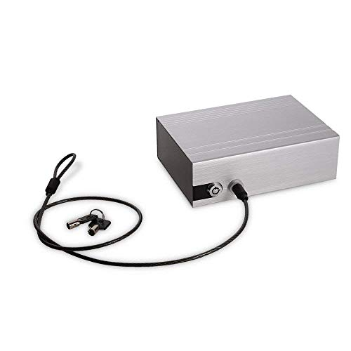 sailnovo Auto Caja Fuerte silbrig Llave Safe Seguro Box portátil con Cable...