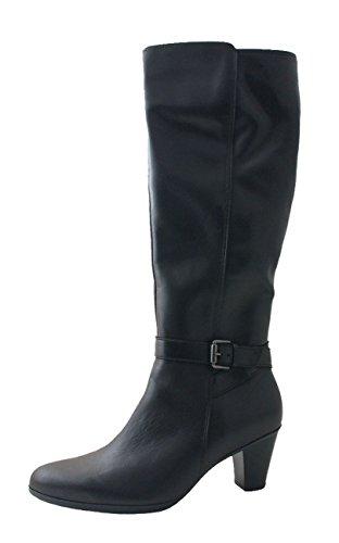 Mesdames longues bottes Point n ° Gabor 95.619.87 noir taille 37,5 - 41 .. schwarz