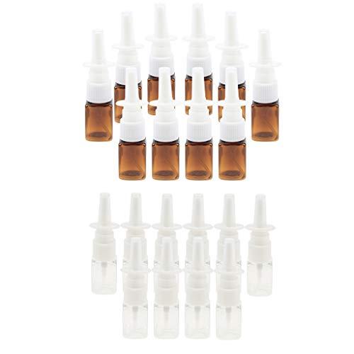 B Baosity Set 20x Flacons Vaporisateur Parfum Trousses de toilettes