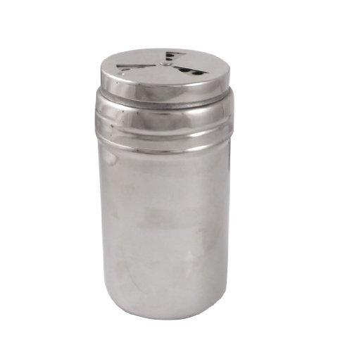 DealMux Edelstahl Salz Chilipulver Halter Cruet Bottle Castor Cruet Halter