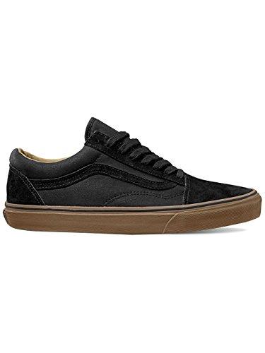 Vans Old Skool Reissue DX Coated Black Medium Gum Black/Medium Gum