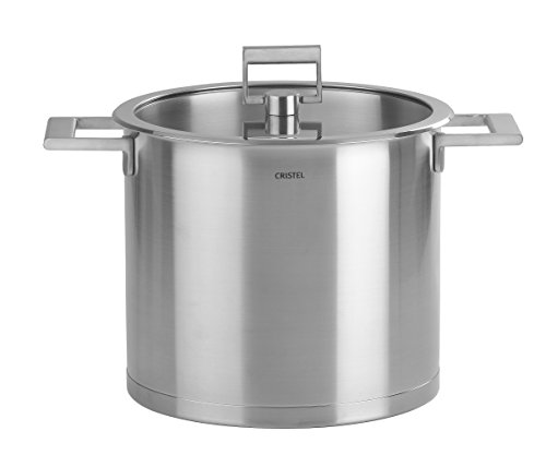 Cristel-M24SF-Marmite inox 24cm + couvercle - Collection Strate