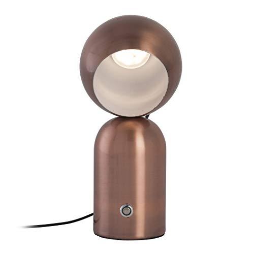 Lampe De Table Design Led Step Dimmable Kokeshy Cuivrée En Métal