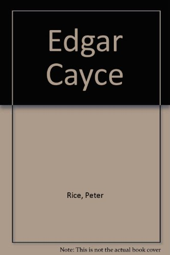 Edgar Cayce par Peter Rice