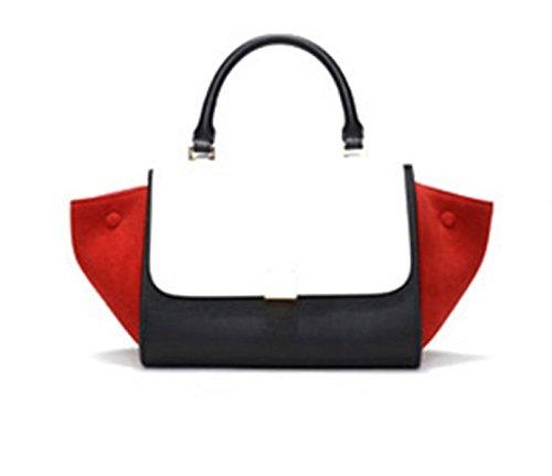 Sommer-Damen-Kettenpaket Koreanische Version Der Schulter-Beutel-weiblichen Paket-Minibagger-Beutel BlackAndWhite