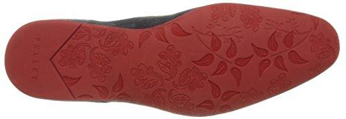 Pellet Douglas E16, Chaussures lacées homme Bleu (Velours Jean/Smlle Rouge)