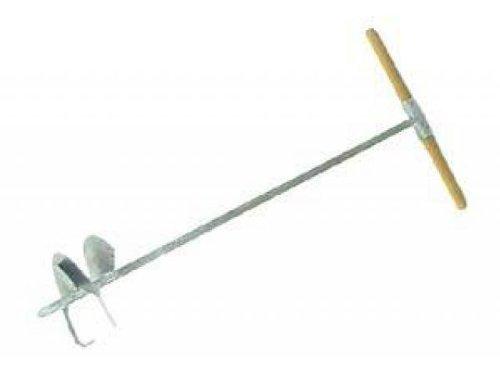 Handerdbohrer verzinkt Bohrung im Durchmesser 20 cm