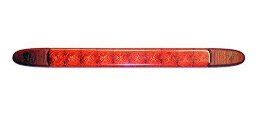 HELLA 2DA 343 106-201 Zusatzbremsleuchte, LED Bremslicht, Anbau hinten geklebt, 3000 mm Kabel, 12 V